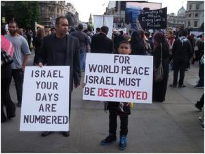 Al Quds 2011 anti Israeli posters