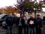 Charville leafleting 25th October 2014