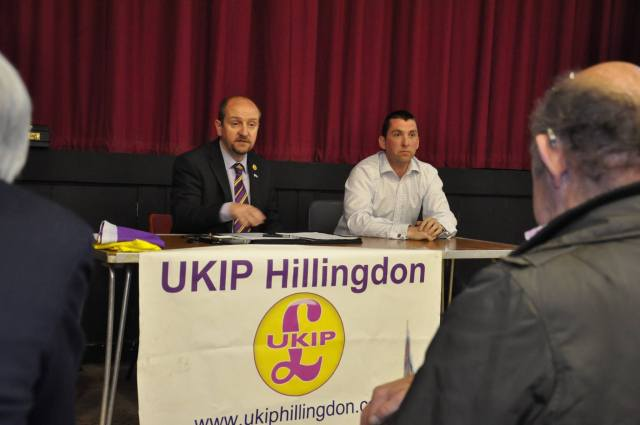 Harefield public meeting April 2014 with GB