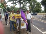 Harefield street stall July 2013