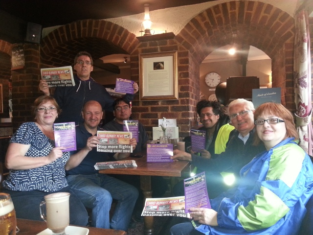 Harlington action day Oct 2014