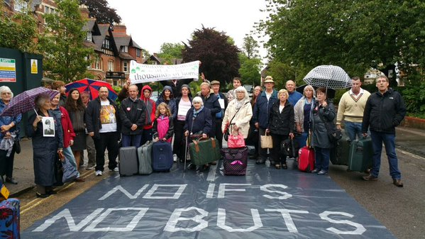 Heathrow homeless tour