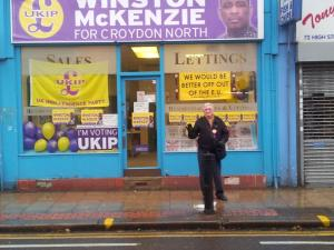 North Croydon by election office