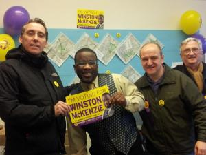 North Croydon by election with Winston