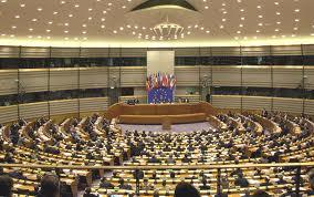 Euro parliament chamber