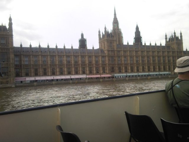 Parliament from the Thames