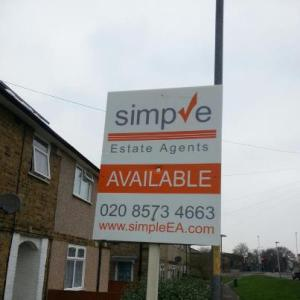 Estate agent board