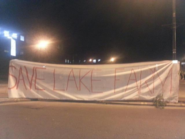 Lake Farm banner