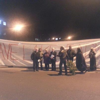 Lake Farm protesters 5-3-13