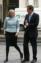 David Cameron & Theresa May
