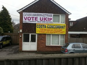 Eastleigh UKIP house