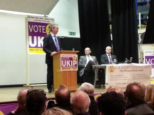 Nigel Farage in Beaconsfield Jan 2014