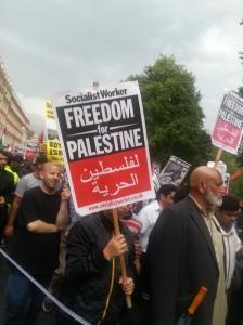 Al Quds 2014 - SWP banners