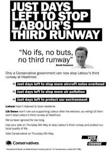 No ifs no buts 2010 GE leaflet